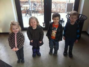 Ida, Johanne, Otto, Frederik