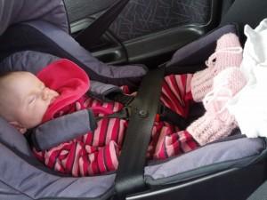 Ida på vej hjem til mormor