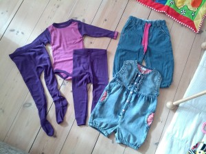 Idas nye tøj
