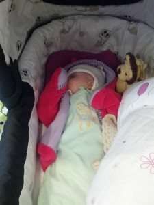 Ida blunder i barnevognen
