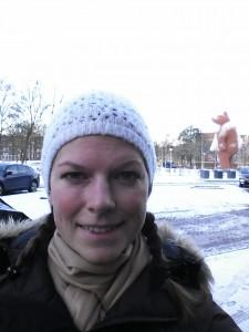 Mor rekognoscerer vejret i Amsterdam