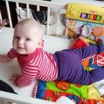 Ida 6 måneder. 71 cm. 8,2 kg