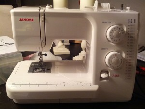 Mors nye symaskine