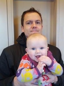 Ida og far