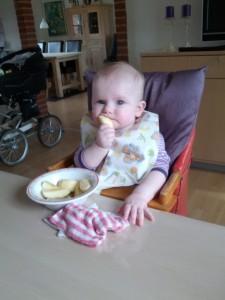 Idas debut med egen tallerken