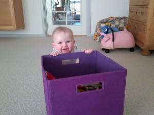 Gid man lige kunne komme op og stå og kigge ned i kassen...