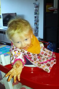 Grrrr....Nutella-monster!