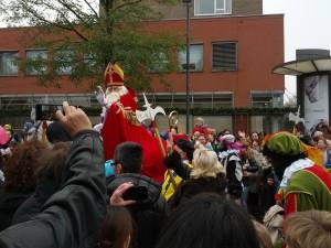 Endelig kom Sinterklaas!