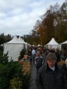 Overviews-billede af lidt af julemarkedet