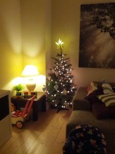 Lidt jul nåede det at blive på Frederiksberg!