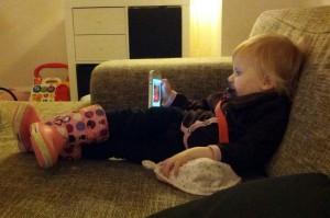 Riiiimelig chilleren high-tech toddler!