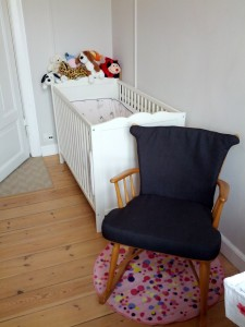 Idas seng og gyngestolen