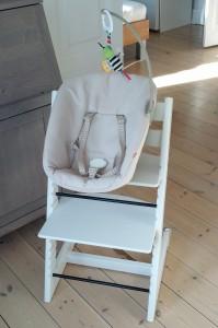 Lillesøsters Tripp Trapp stol med newborn sæt