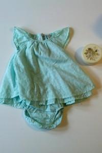 Den fineste kjole med blebukser til Lillesøster og lækker scrub til Mor :)