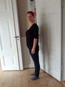 Mor nærmer sig sin start-vægt