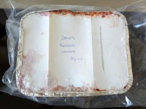 Vi sender en kærlig tanke til Jane, som har sørget for maden hele ugen indtil videre. Tak :)