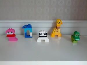 Ida fik Legoklodser. Altid et hit!