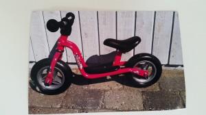 Ida fik en ny cykel