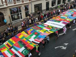 """Copenhagen Pride """"Stop Homophobia!"""""""