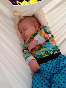 Babyer er søde... når de sover!