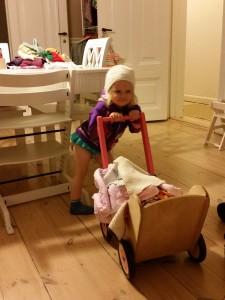 Ida klar til Oman i badebukser og strik...