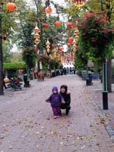 Der var sååå fint med Halloween-pynt i Tivoli