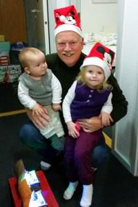 Farfar og julepigerne