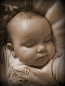 Babyer er så søde når de sover