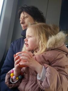 Ida, Mor og Mormor på togtur