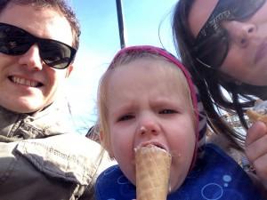 Familien is og sommer!