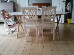 Det nye spisebord