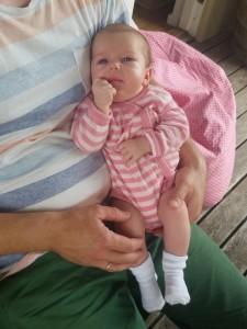Lille lækre baby-Freja