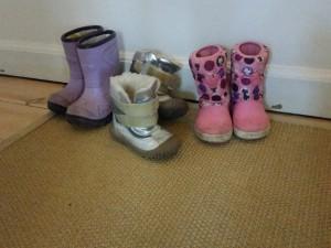Vinterstøvlerne er fundet frem