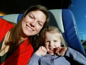 Mor og Ida på tur til Jylland