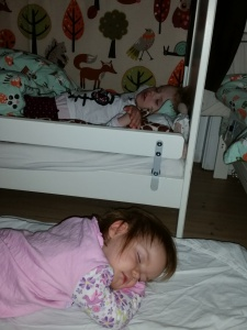 De små sover trygt