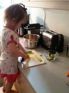 Maya skærer agurker