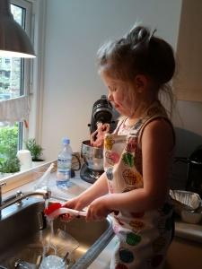 Ida vasker op