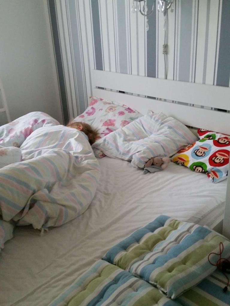 Der soves længe