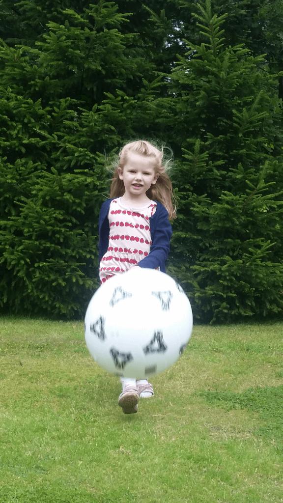 Ida. 4 år