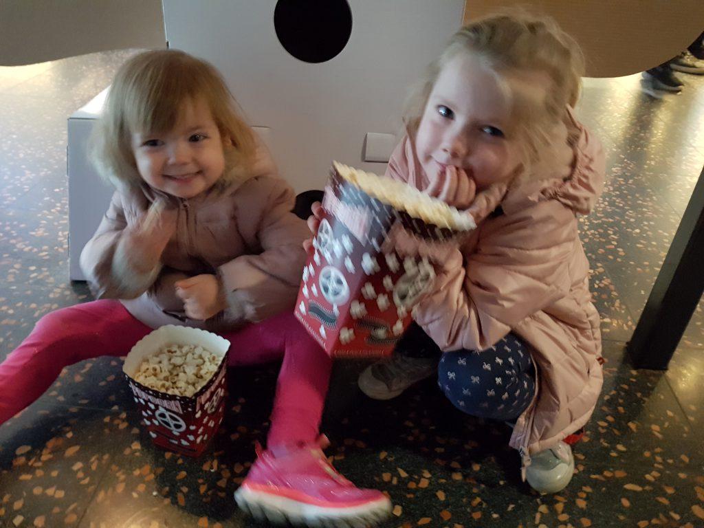 Bio og popcorn