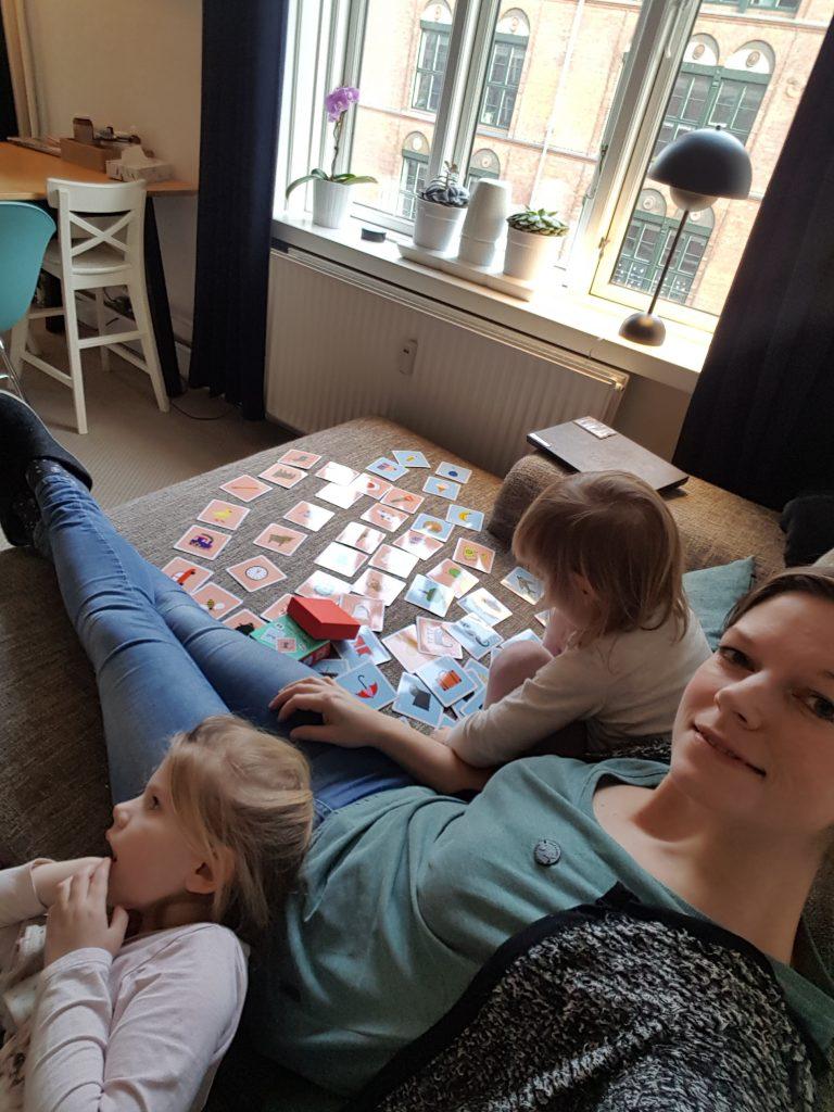 Weekendhygge på sofaen