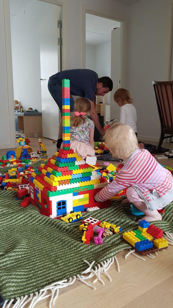 Gang i LEGO-byggeriet hos Nanna og co.