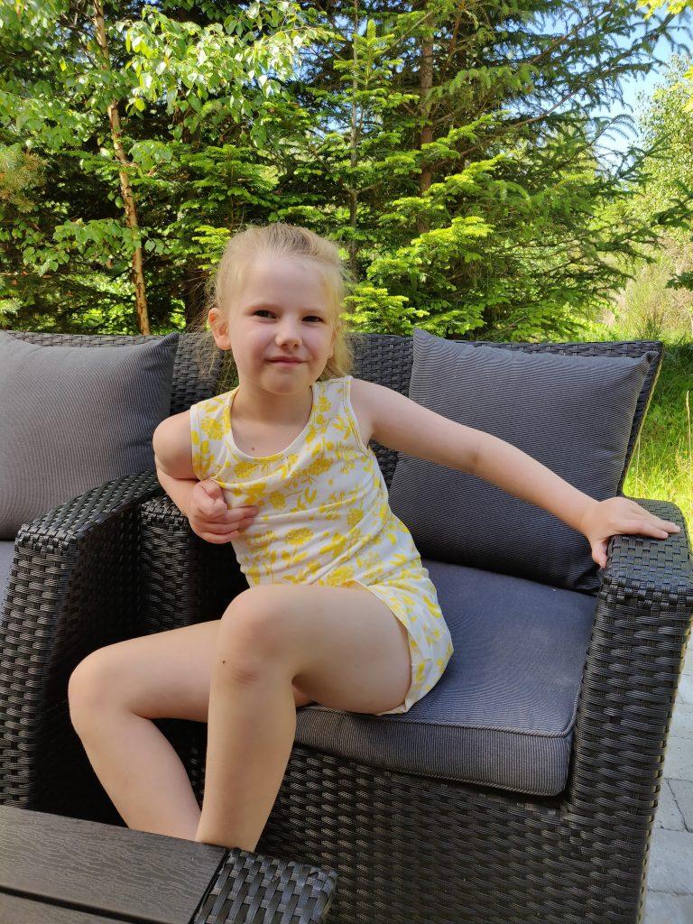 Ida på hendes 6 års fødselsdag
