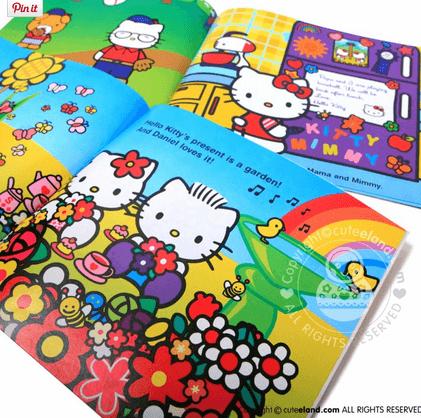 Hello Kitty bøger og legetøj