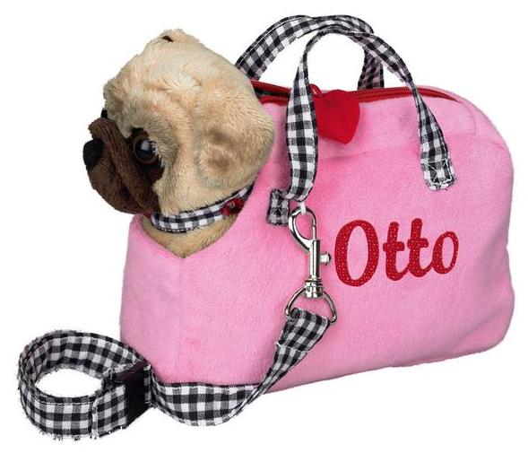 Bamsehund i taske