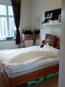 Soveværelset - stadig med lidt flytterod