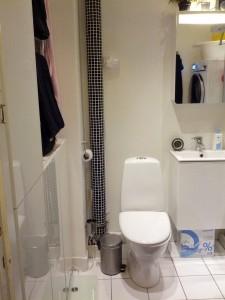 Badeværelset i tip tiop stand!