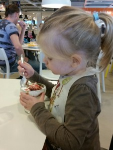 Dybt koncentreret soft-ice spiser