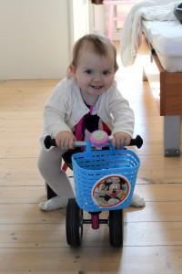 Frække My på cyklen