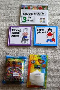Bøger og perler fra Morfar og Grete